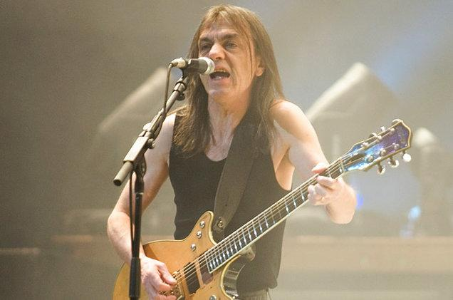 AC/DC's Malcolm Young Had 'Noticeable' Health Problems Back In 2008