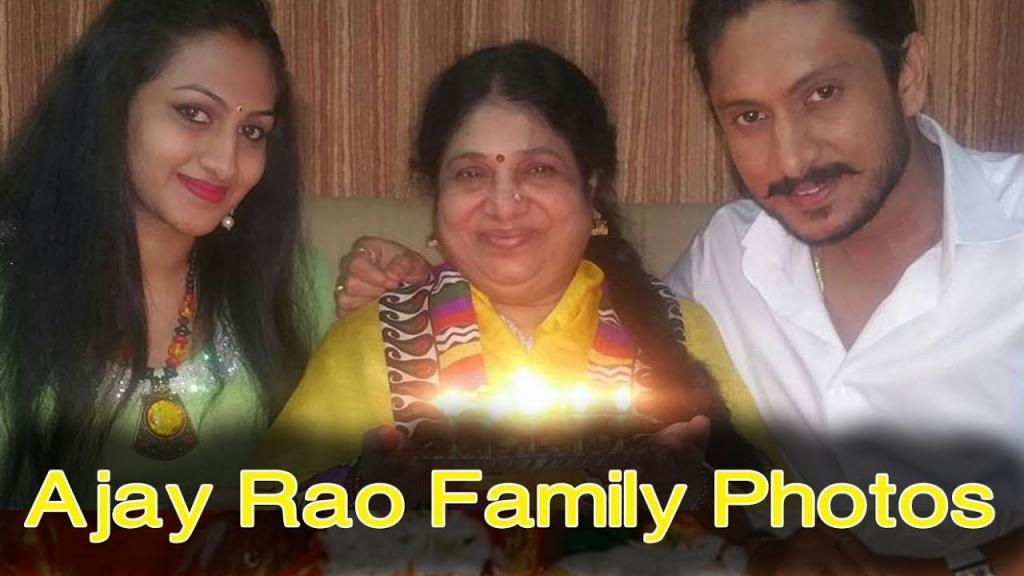 Ajay Rao With Family Photos Ajay Rao With His Wife Lovely Pics