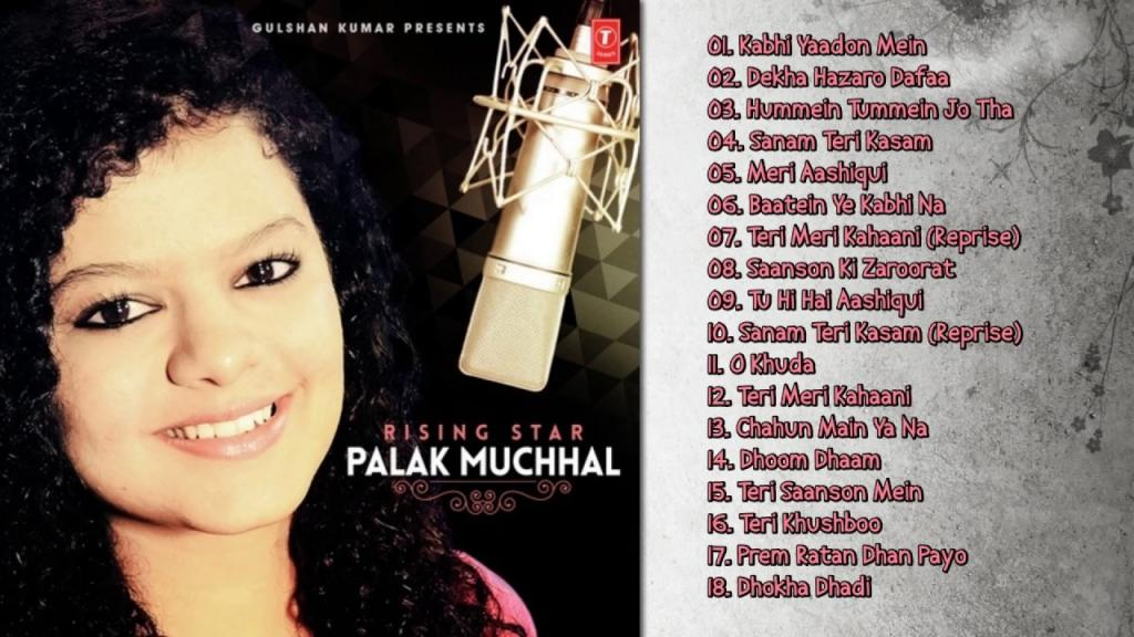 Best Of Palak Muchhal New Bollywood Songs Jukebox YouTube