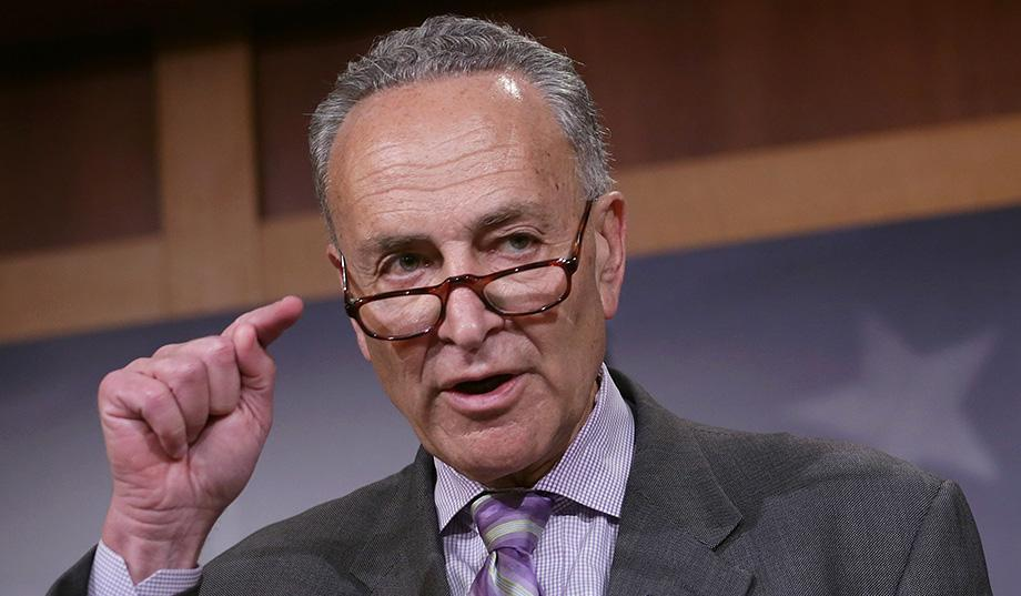 Breaking Chuck Schumer Blows The Top World Politicus