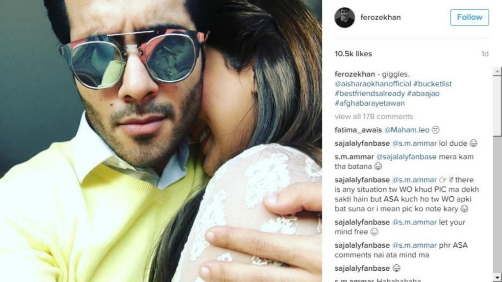 Feroze Khan Hits Back At Abusive Instagram Followers Celebrity
