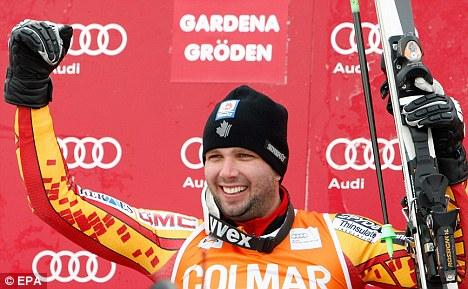 Manuel OsborneParadis Claims Superb Victory In Mens Downhill
