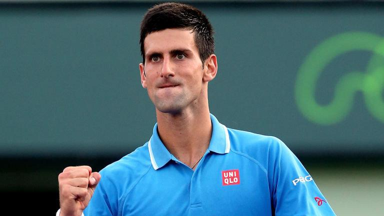 Novak Djokovic Continues The Defence Of His Miami Open Title Against
