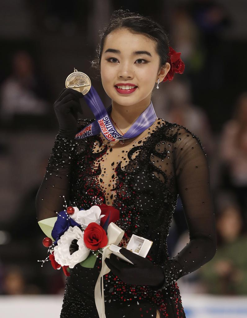 Olympics Karen Chen Wins Spot On US Figure Skating Team