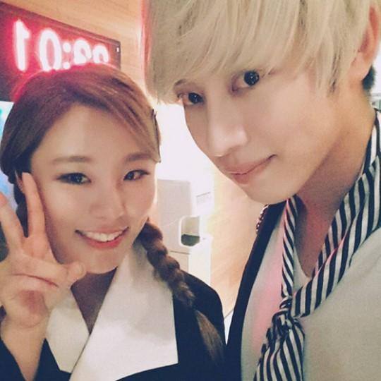 Super Juniors Heechul Confirms Duet Is With MAMAMOOs Wheein Soompi